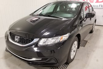Honda Civic Sedan LX bluetooth automatique full 2014
