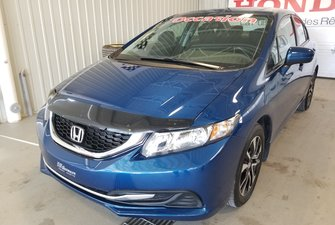 Honda Civic Sedan EX toit bluetooth mags bas kilo certifié 2015