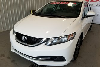 Honda Civic Sedan EX toit mags bluetooth 2015
