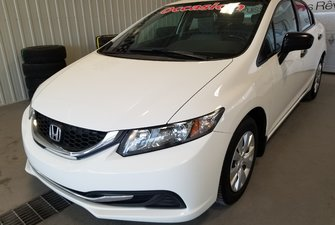 Honda Civic Sedan DX manuelle bluetooth 2015