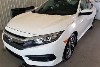 2016 Honda Civic Sedan EX automatique full mags toit bluetooth