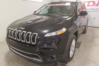 2015 Jeep Cherokee Limited full toit cuir bluetooth