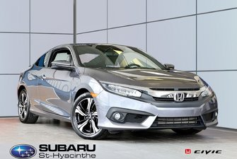 2016 Honda Civic Coupe Touring, cuir, toit ouvrant