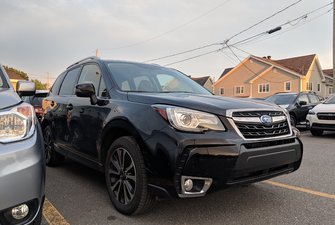 Subaru Forester XT Limited, turbo, cuir, GPS, toit panoramique 2017