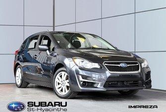 2015 Subaru Impreza Tourisme, sièges chauffants