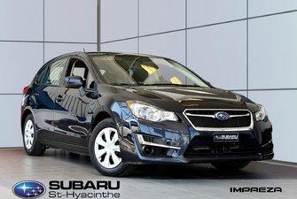 2015 Subaru Impreza 2.0i, traction intégrale, bas kilométrage