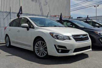 Subaru Impreza Sport, toit ouvrant, sièges chauffants 2015