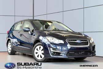 2016 Subaru Impreza 2.0i, traction intégrale, groupe électrique