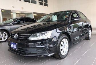 2015 Volkswagen Jetta Trendline Plus 1.8T Manual Transmission