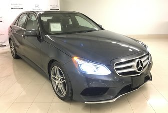 2016 Mercedes-Benz E250 BlueTEC 4MATIC Sedan