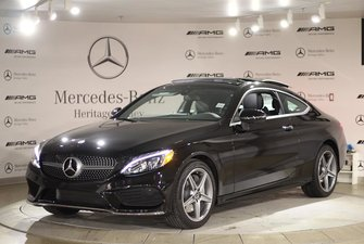 2018 Mercedes-Benz C300 4MATIC Coupe