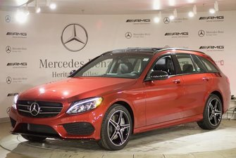 2018 Mercedes-Benz C300 4MATIC Wagon