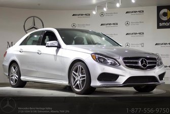 2016 Mercedes-Benz E400 4MATIC Sedan