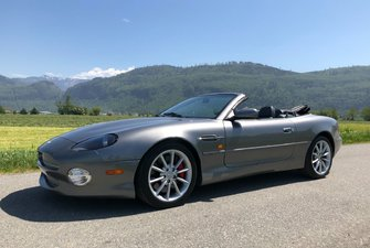 2003 Aston Martin DB7 VANTAGE - 100% ORIGINAL, ALL STOCK VINS, LEATHER