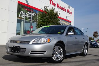 2013 Chevrolet Impala LT - BLUETOOTH, AUX, CD PLAYER, POWER LOCKS/WINDOW
