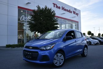 2017 Chevrolet Spark LS - B/U CAMERA, BLUETOOTH, FLOOR MATS