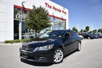 2015 Honda Accord Sedan TOURING - LEATHER, NAVI, BLUETOOTH, SUNROOF