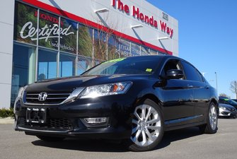 2013 Honda Accord TOURING - NAVI, BLUETOOTH, B/U CAMERA, LEATHER