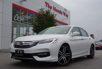 2017 Honda Accord Sedan TOURING - NAVI, B/U CAMERA, BLUETOOTH, SUNROOF