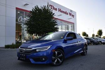 2016 Honda Civic Coupe TOURING - SUNROOF, B/U CAMERA, BLUETOOTH, NAVI