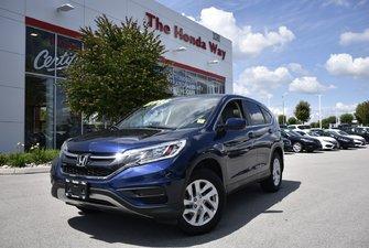 2015 Honda CR-V SE - BLUETOOTH, B/U CAMERA, TINT