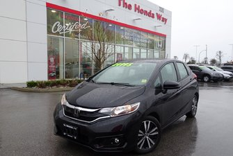 2018 Honda Fit EX-L NAVI - LEATHER, SUNROOF, B/U CAMERA,BLUETOOTH