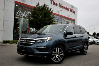2016 Honda Pilot TOURING - ENT. SYSTEM, HITCH, LEATHER, NAVI