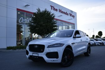 2017 Jaguar F-Pace S - FULLY LOADED, NAVI, BLUETOOTH, LANEWATCH