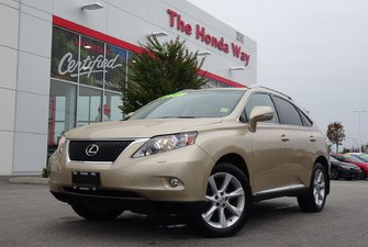 2010 Lexus RX 350 LEATHER, BLUETOOTH, NAVI, SUNROOF
