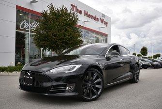 2017 Tesla Model S 90D - PREMIUM UPGRADES PACKAGE, ENHANCED AUTOPILOT