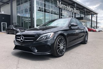 2017 Mercedes-Benz C-Class 4MATIC SEDAN