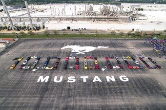 10 million Ford Mustang