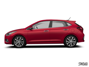 2020 Hyundai Accent 5 doors