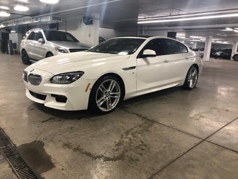 2015 BMW 650i Gran Coupe XDrive, NAVIGATION, SUNROOF
