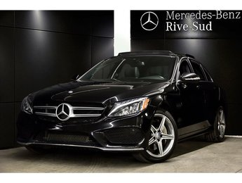 2015 Mercedes-Benz C-Class C300 4MATIC,SPORT PACKAGE,NAVIGATION