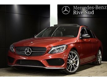 2016 Mercedes-Benz C-Class C450 4MATIC, DISTRONIC PLUS, # IDP