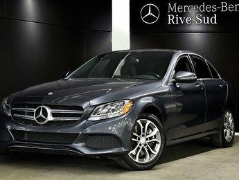 2016 Mercedes-Benz C-Class C300 4MATIC, TOIT PANORAMIQUE, VOLANT CHAUFFANT