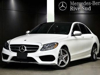 2017 Mercedes-Benz C-Class C300 4MATIC, SPORT PKG, TOIT PANORAMIQUE