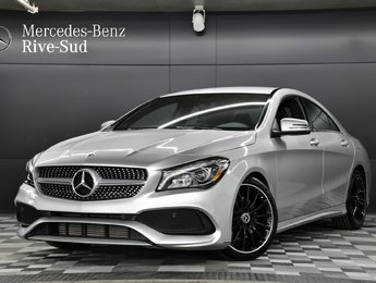 2018 Mercedes-Benz CLA-Class 4MATIC COUPE, ENSEMBLE SPORT/SPORTS PACKAGE