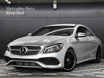 2018 Mercedes-Benz CLA-Class 4MATIC COUPE, ENSEMBLE SPORT/SPORTS PACKAGE