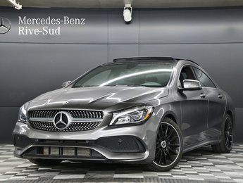 2018 Mercedes-Benz CLA-Class 4MATIC COUPE, ENSEMBLE SPORT
