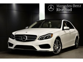 2016 Mercedes-Benz E-Class E400 4MATIC, Camera 360, Toit Panoramique