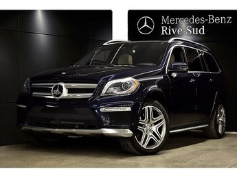 2015 Mercedes-Benz GL-Class GL550 4MATIC DISTRONIC PLUS