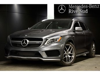 2015 Mercedes-Benz GLA-Class GLA45 AMG 4MATIC, NAVIGATION, TOIT PANORAMIQUE