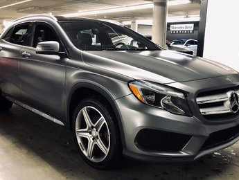 2016 Mercedes-Benz GLA250 4MATIC SUV, TOIT PANORAMIQUE