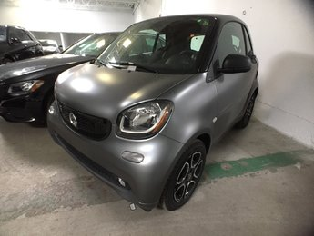 2018 smart Fortwo Electric drive cpé