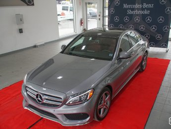 Mercedes-Benz C-Class 2016 C300 Int. Rouge + Premium 1+2 + Sport Pack