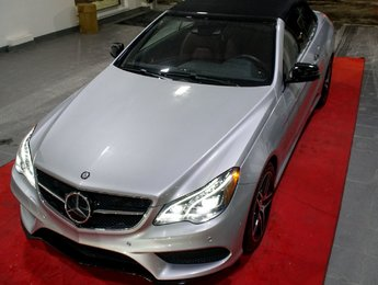 Mercedes-Benz E-Class 2017 E 400 MOINS DE 6000 KM, CONDUITE INTELLIGENTE