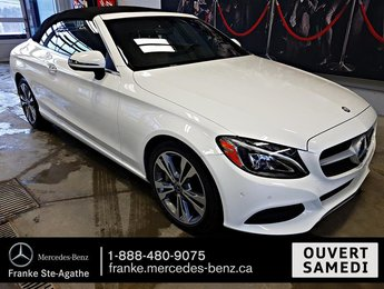 2017 Mercedes-Benz C300 4MATIC Cabriolet