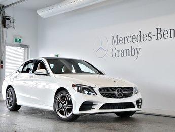 2019 Mercedes-Benz C-Class C 300, Cuir BRUN, CLUSTER DIGITAL, AMG